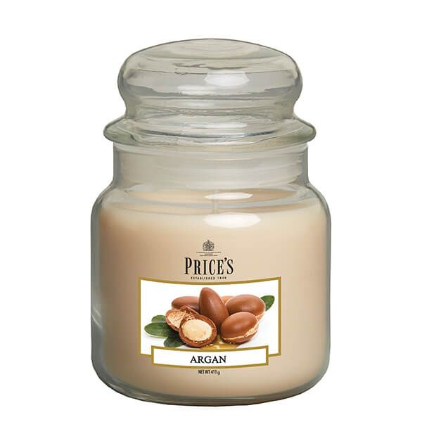 Prices Fragrance Collection Argan Medium Jar Candle