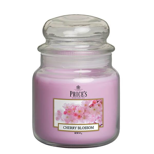 Prices Fragrance Collection Cherry Blossom Medium Jar Candle