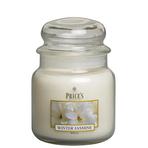 Prices Fragrance Collection Winter Jasmine Medium Jar Candle