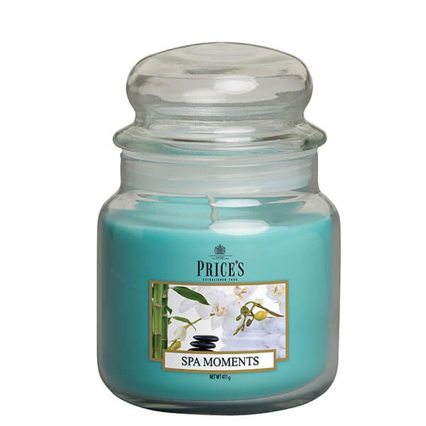Prices Fragrance Collection Spa Moments Medium Jar Candle
