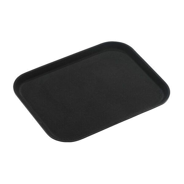 "Tuff Grip Super Plastic Rectangular Tray, 14"" x 10"""