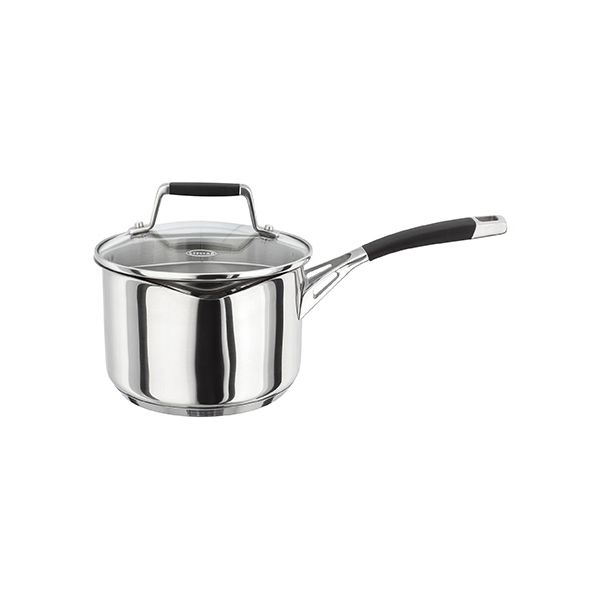 Stellar 5000 Induction 16cm Draining Lid Saucepan