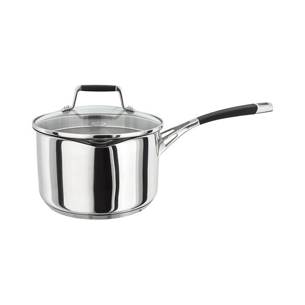 Stellar 5000 Induction 20cm Draining Lid Saucepan