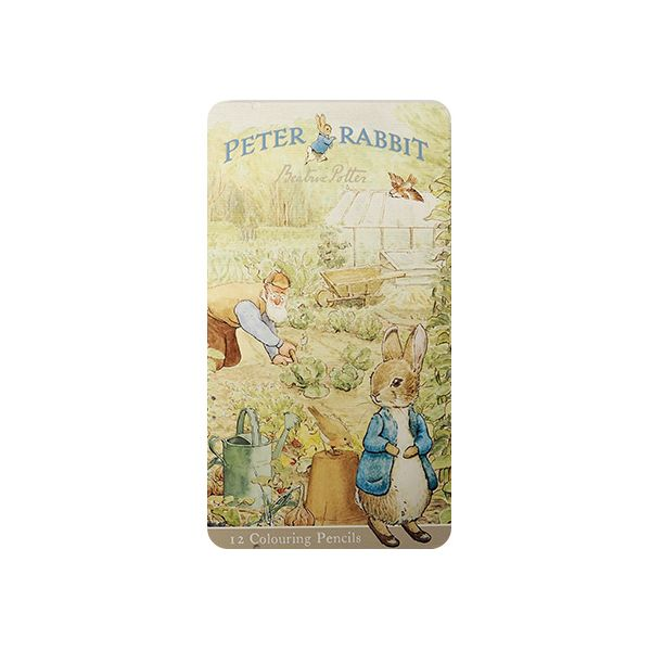 Peter Rabbit Pencil Tin with 12 Pencils