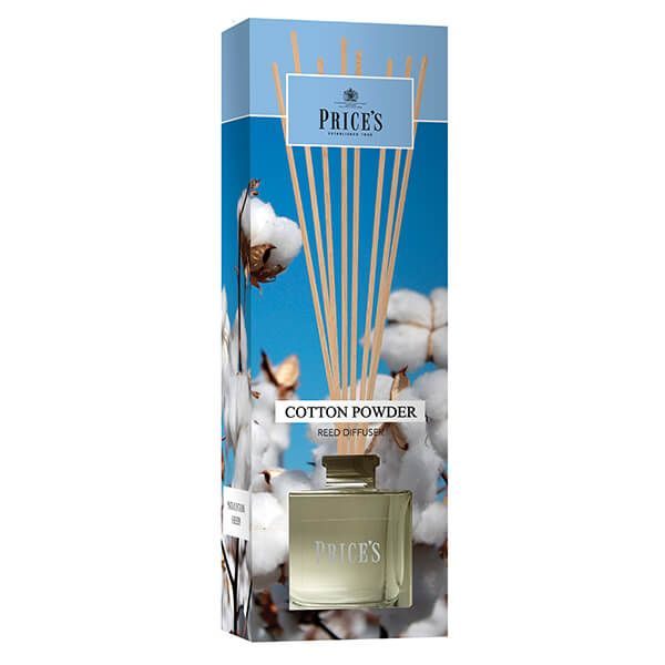 Prices Fragrance Collection Cotton Powder Reed Diffuser