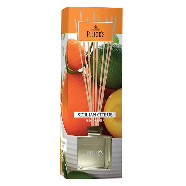 Prices Fragrance Collection Sicilian Citrus Reed Diffuser