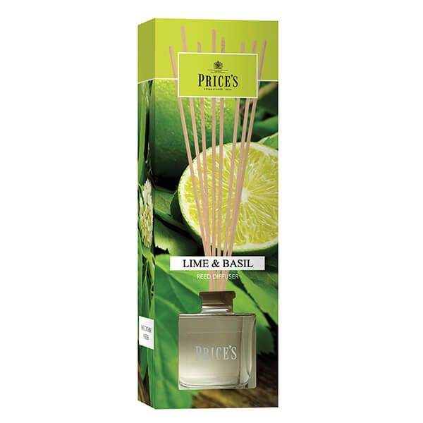 Prices Fragrance Collection Lime / Basil Reed Diffuser