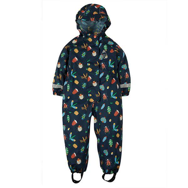 Frugi Organic Bugs Rain Or Shine Suit