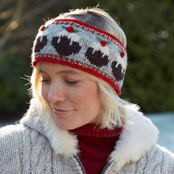 Pachamama Knitted Pudding Headband