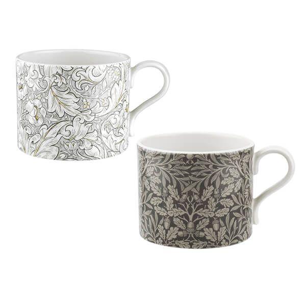 Morris & Co Bachelors & Acorn Mugs Set of 2
