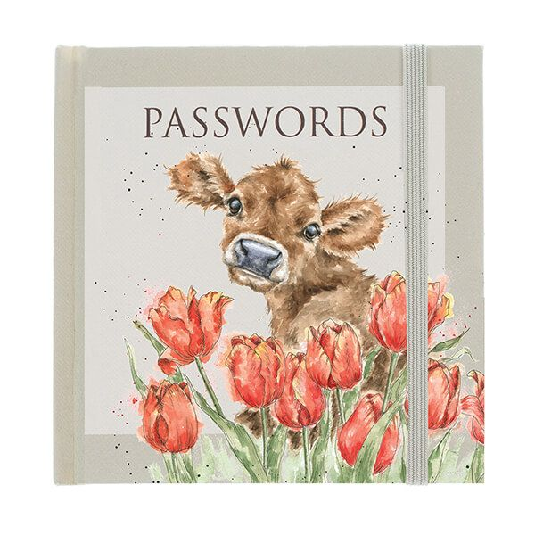 Wrendale Designs Bessie Password Book