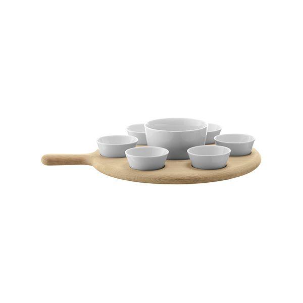 LSA Paddle Tapas Set & Oak Paddle 40cm