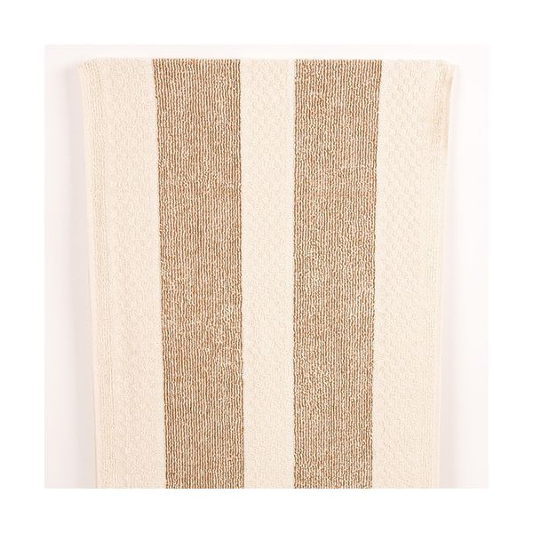 Range Towel Natural Stripe