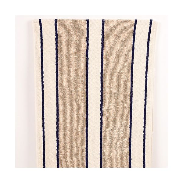 Range Towel Navy Stripe