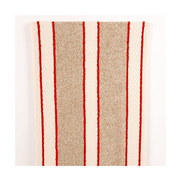 Range Towel Bordeaux Stripe