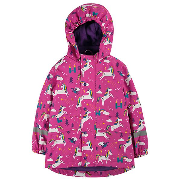 Frugi Organic Unicorn Puddles Puddle Buster Coat