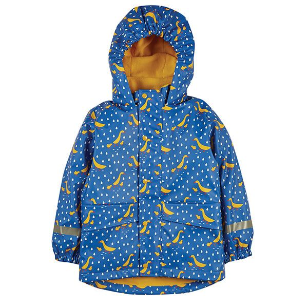 Frugi Organic Runner Ducks Puddle Buster Coat
