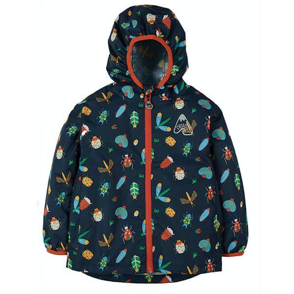 Frugi Organic Bugs Rain Or Shine Jacket