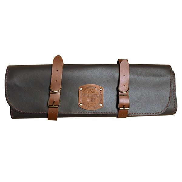Rockingham Forge 10 Pocket Brown Leather Case
