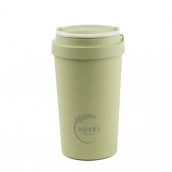 Huski Home Rice Husk Travel Cup Pastel Green 400ml