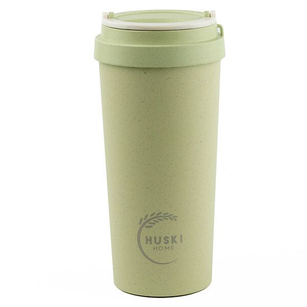 Huski Home Rice Husk Travel Cup Pastel Green 500ml