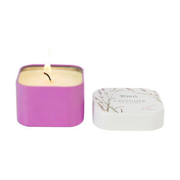 Wax Lyrical RHS Fragrant Garden Lavender Candle Tin