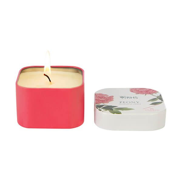 Wax Lyrical RHS Fragrant Garden Peony Candle Tin