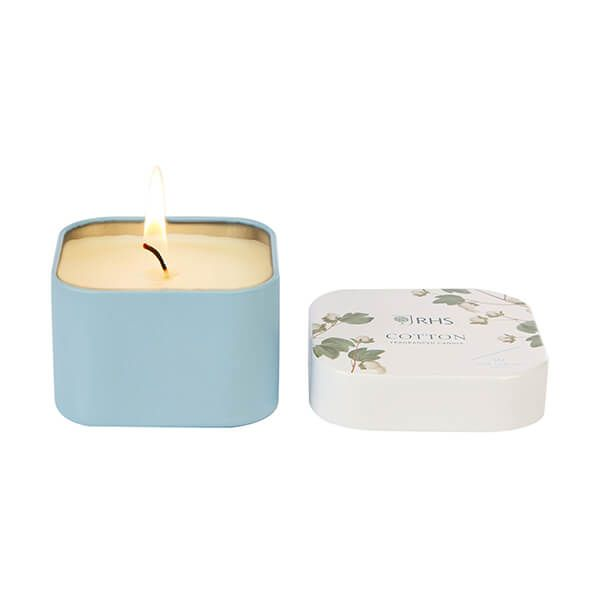 Wax Lyrical RHS Fragrant Garden Cotton Candle Tin