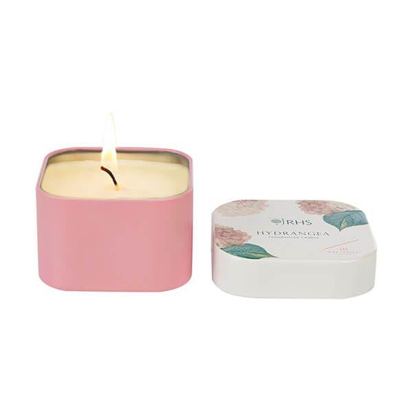 Wax Lyrical RHS Fragrant Garden Hydrangea Candle Tin