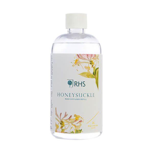 Wax Lyrical RHS Fragrant Garden Honeysuckle Reed Diffuser Refill 200ml