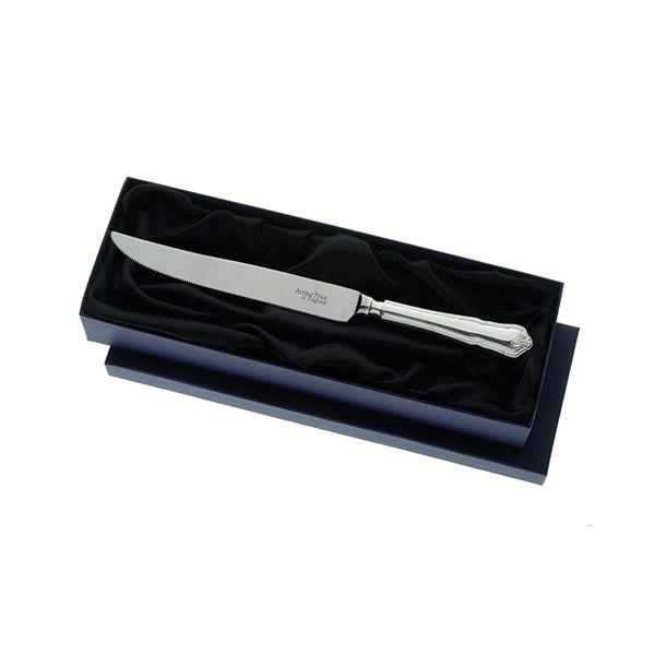 Arthur Price of England Sovereign Silver Cake Knife Ritz