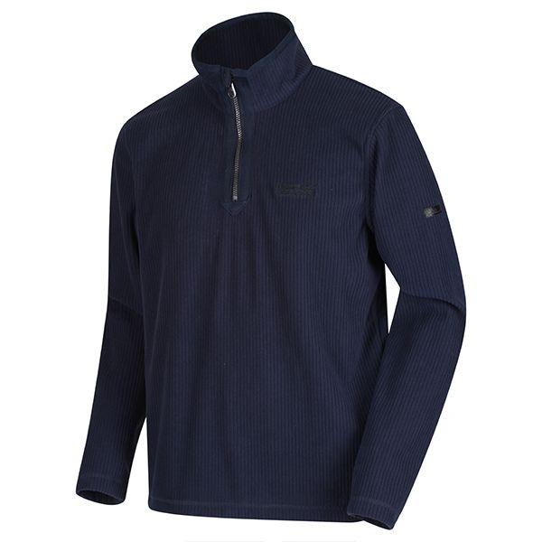 Regatta Navy Elgrid Half Zip Mid Weight Fleece