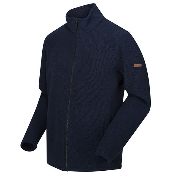 Regatta Navy Esdras Full Zip Honeycomb Fleece