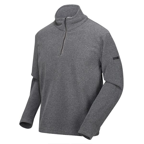 Regatta Asteroid Grey Edley Half Zip Two Tone Fleece