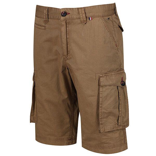 Regatta Men's Shorebay Vintage Cargo Shorts Dark Camel