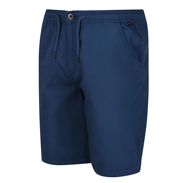 Regatta Men's Albie Casual Chino Shorts Dark Denim