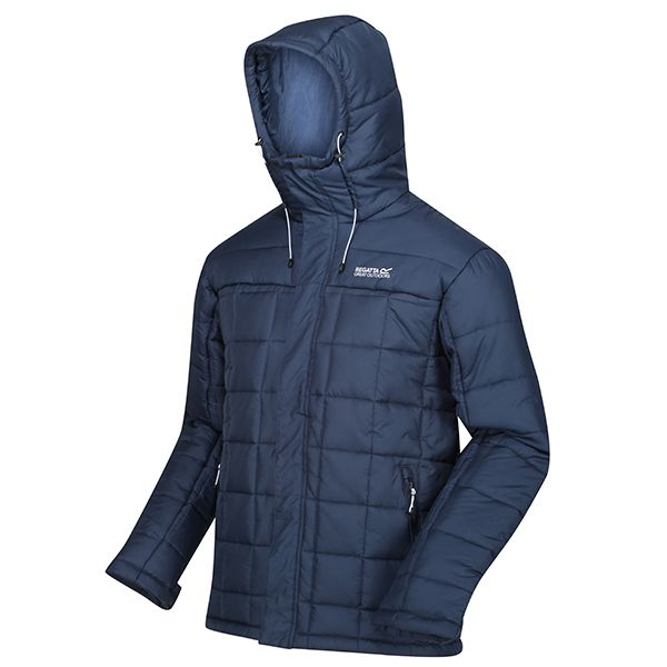 Regatta Nightfall Nevado IV Insulated Quilted Hooded Walking Jacket