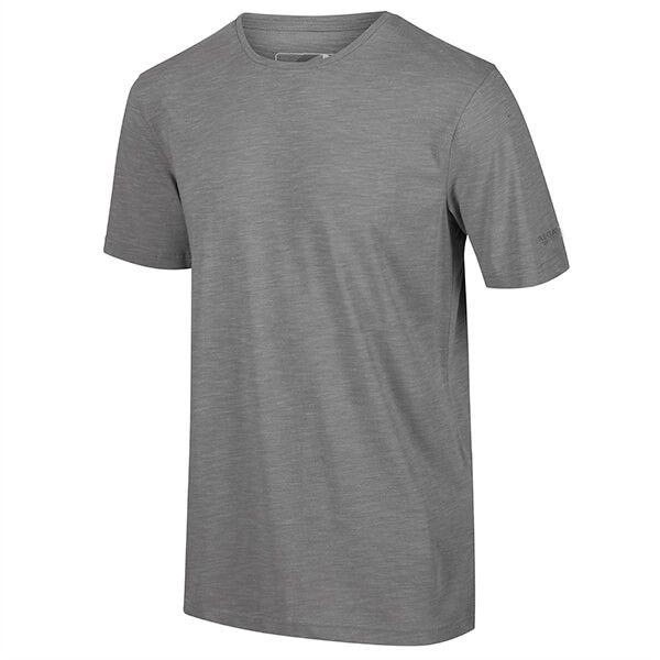Regatta Men's Tait Lightweight Active T-Shirt Rock Grey