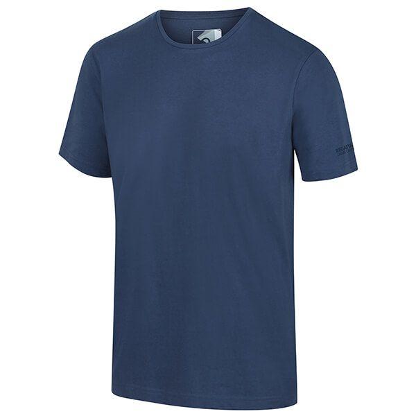 Regatta Men's Tait Lightweight Active T-Shirt Dark Denim