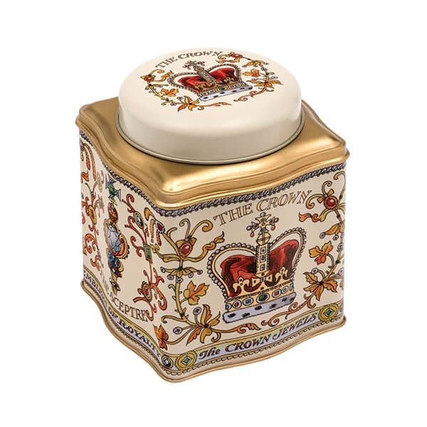 Emma Bridgewater Royal Celebration Dome Lid Wavy Caddy