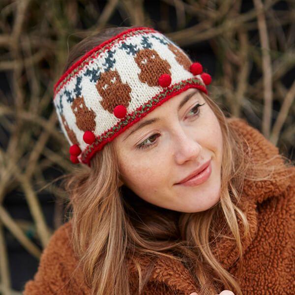 Pachamama Knitted Rudolf Headband