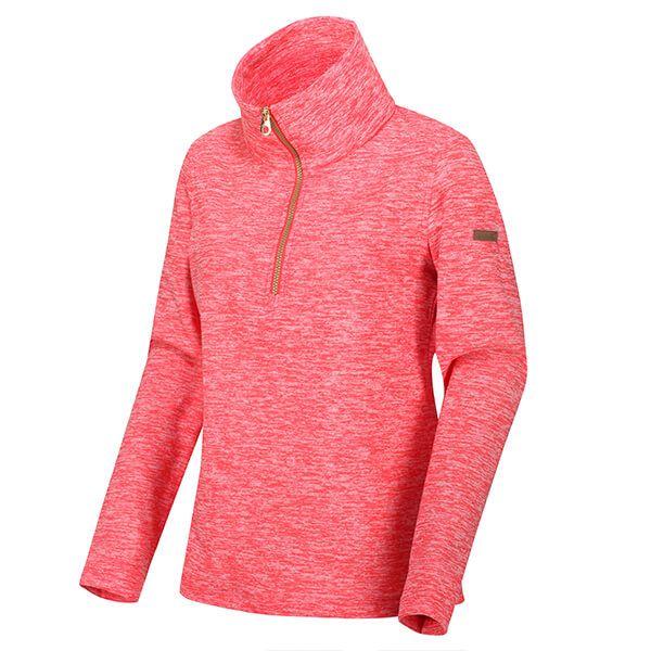 Regatta Women's Fidelia Lightweight Half-Zip Fleece Red Sky