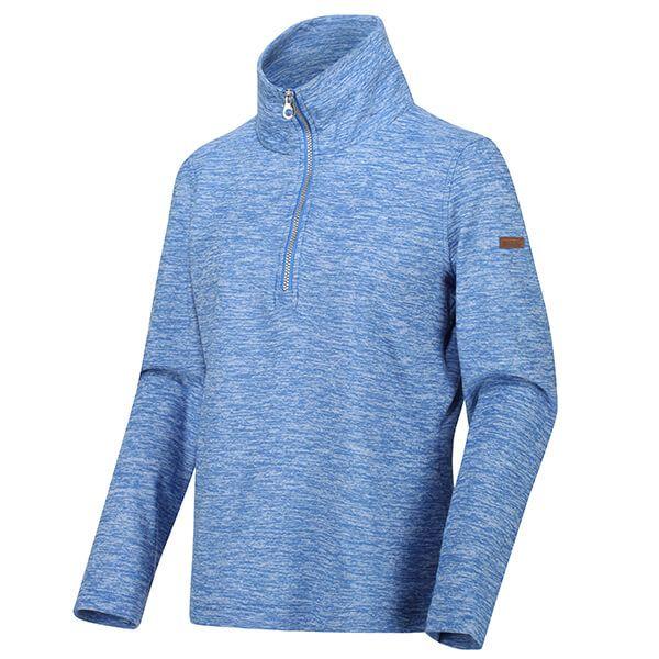 Regatta Women's Fidelia Lightweight Half-Zip Fleece Strong Blue