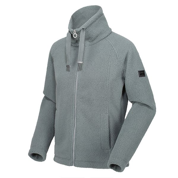 Regatta Balsam Green Zaylee Full Zip Mid Weight Fleece