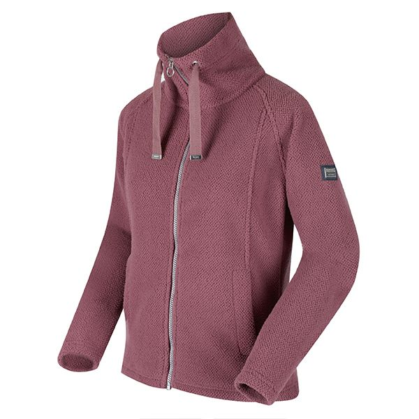 Regatta Dusky Heather Kimberley Walsh Zaylee Full Zip Mid Weight Fleece
