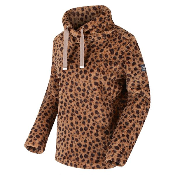 Regatta Leopard Hannelore Overhead Fluffy Fleece