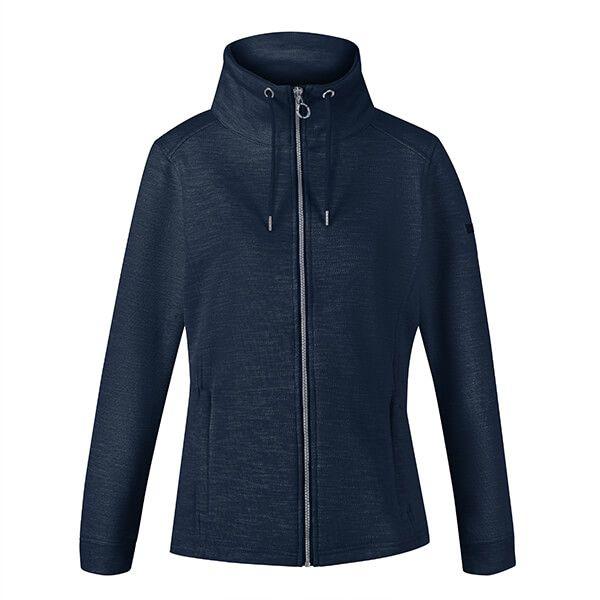 Regatta Women's Olena Full Zip Snood Collar Fleece Navy