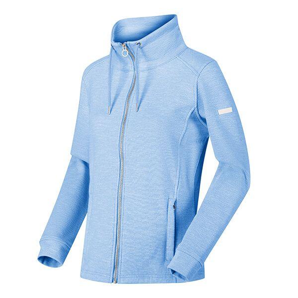 Regatta Women's Olena Full Zip Snood Collar Fleece Blueskies
