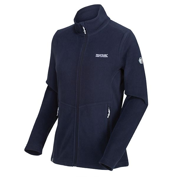 Regatta Navy Floreo III Full Zip Mid Weight Walking Fleece