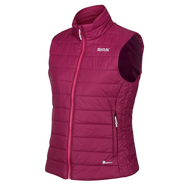 Regatta Purple Potion Freezeway II Insulated Quilted Walking Bodywarmer